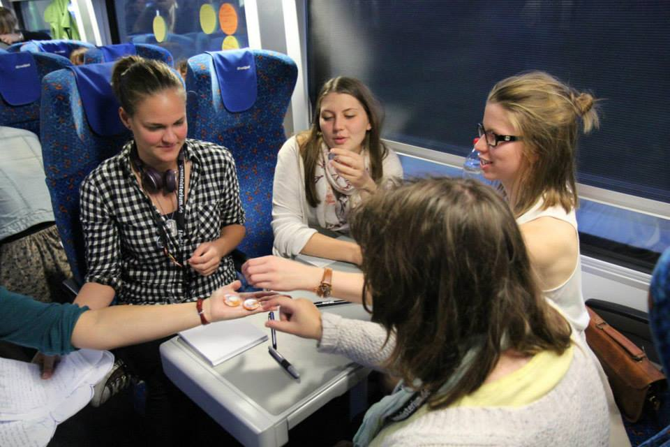 Open Badges on Rail. Young Europe - Rethinking Democracy